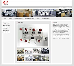 K2 Space Website