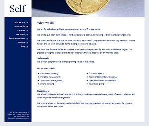 Self Ltd Website